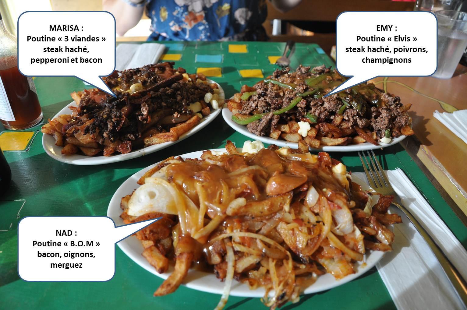 Montr al nous voil retrouvailles poutine and jazz for Specialite russe cuisine