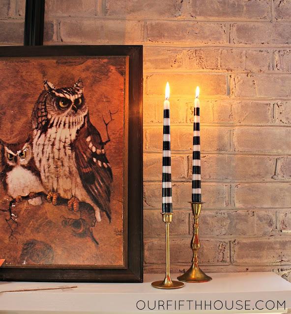 Target Halloween candlesticks