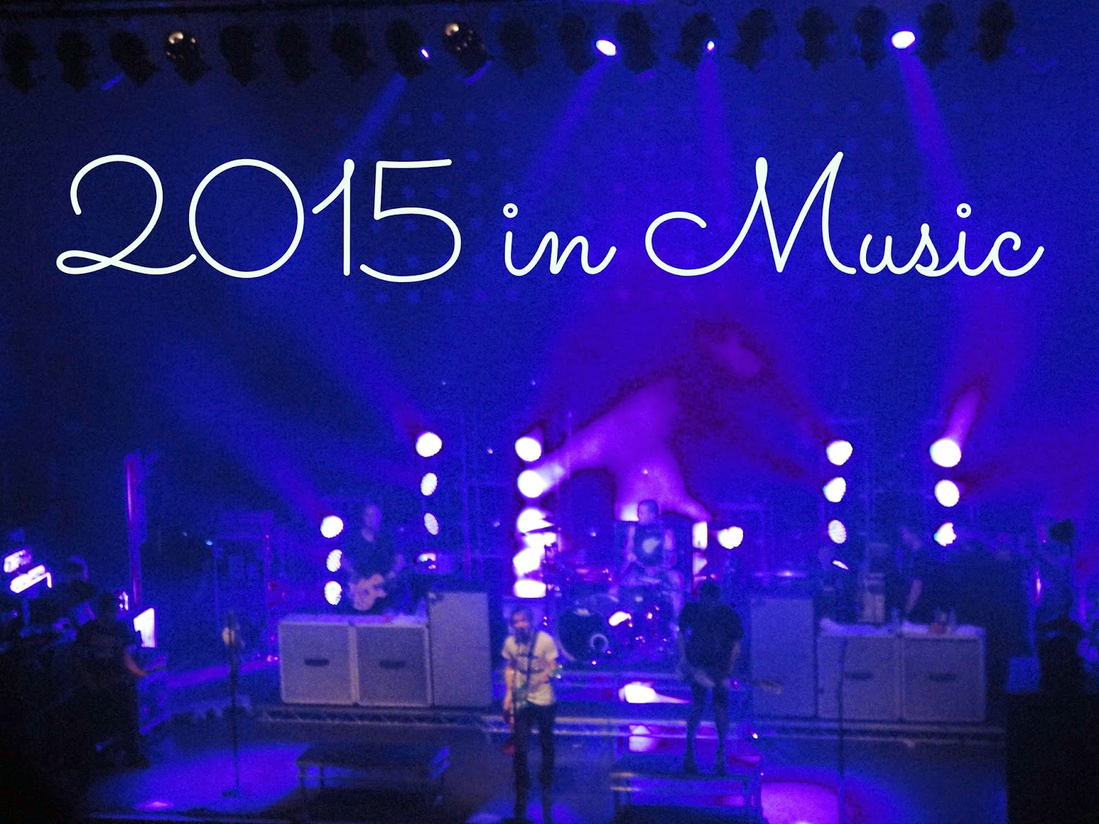 2015 in Music | All Time Low on stage at Glasgow O2 Academy concert
