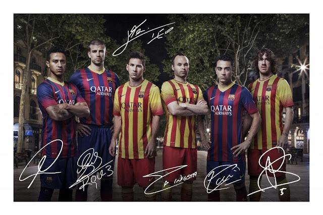 Download image Kumpulan Foto Tim Barcelona Terbaru 2013 Bola Penting ...
