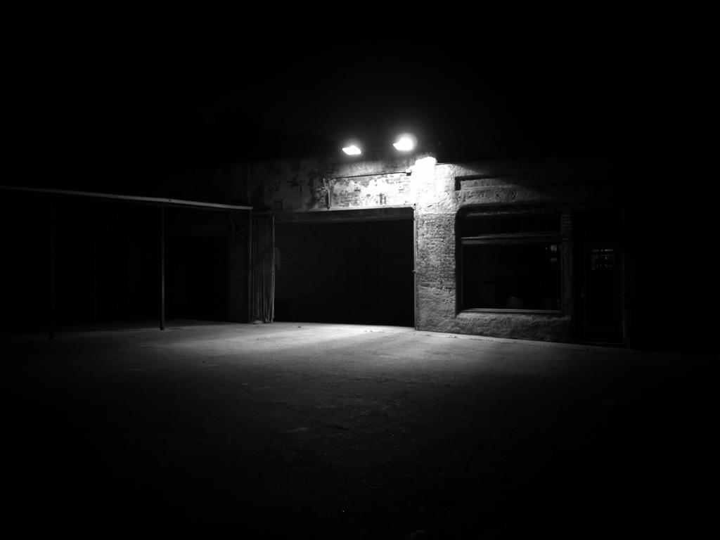East Of West L A Abandoned Garage