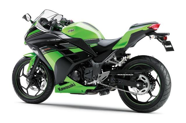 Ninja 250 (0.12 Nm/kg) tidak lebih besar dari CBR 250R (0,13 Nm/kg title=