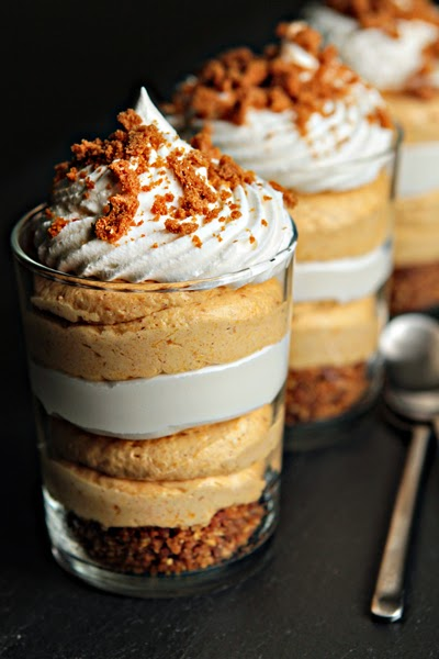 Simple Pumpkin Cheesecake Trifles ~ GIRLS DISH