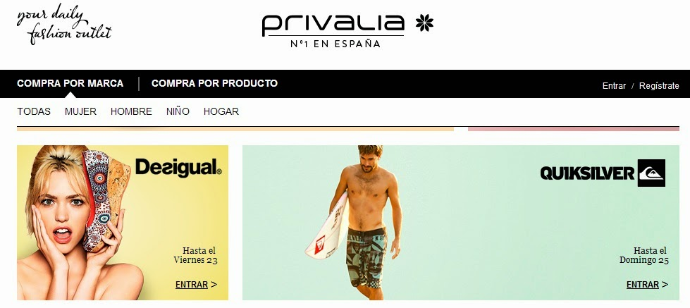 club de venta privado privalia