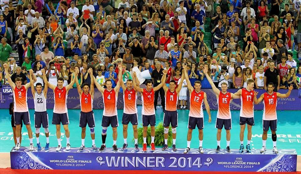 VOLEIBOL - Estados Unidos obliga a Brasil a repetir subcampeonato en la Liga Mundial