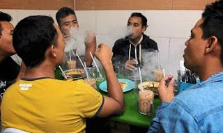 merokok di restoran