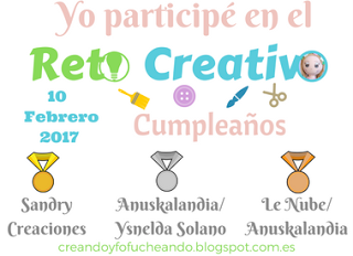 Reto creativo: cumpleblog