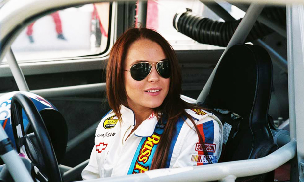 Lindsay Lohan en Herbie a toda marcha | Ximinia