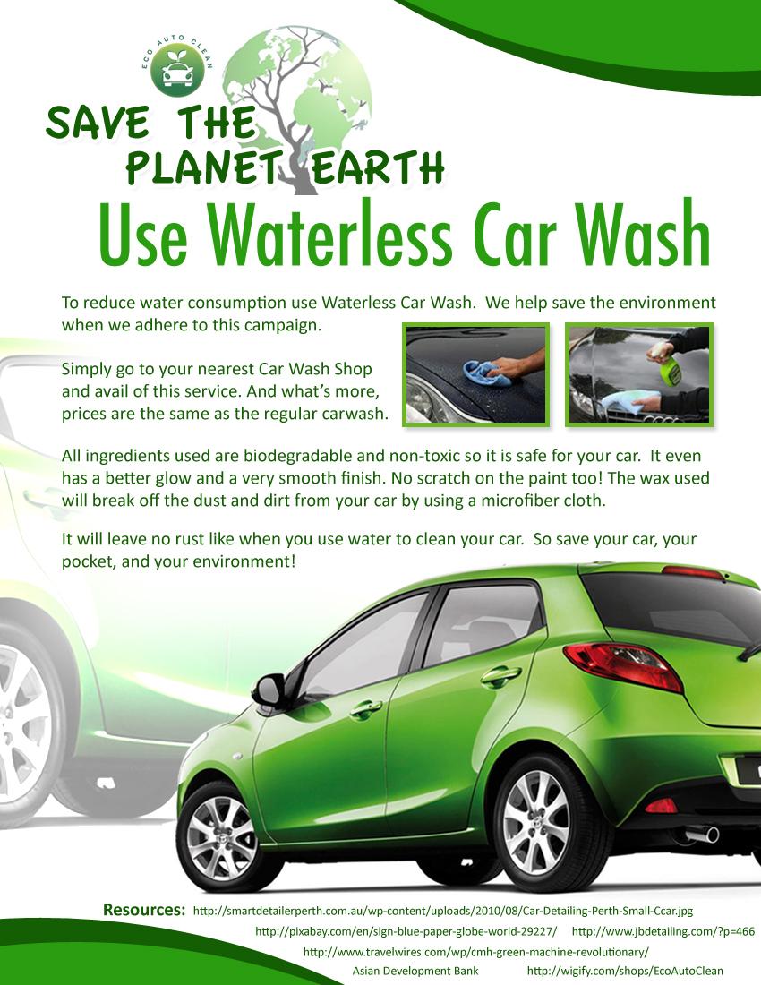 waterless car wash machine