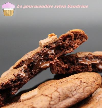 Les OUTRAGEOUS COOKIES au chocolat de Martha Stewart