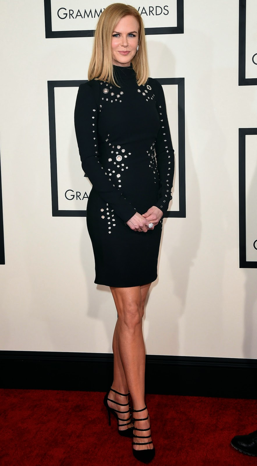 Nicole Kidman  2015 Grammy Red Carpet