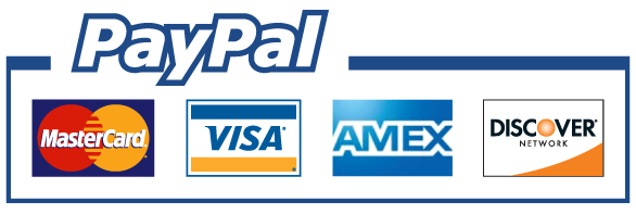 We also accept PayPal