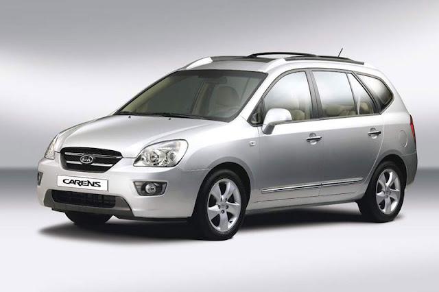 Kia Carens - Những xe ô tô bán chạy nhất Việt Nam 2012