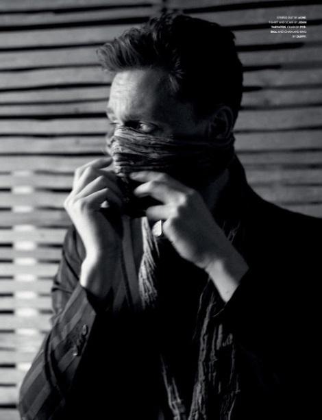 Tom Hiddleston by Jason Hetherington for Flaunt Magazine #126