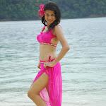 Shraddha Das in Pink Dress @ Beach  Photo Gallery
