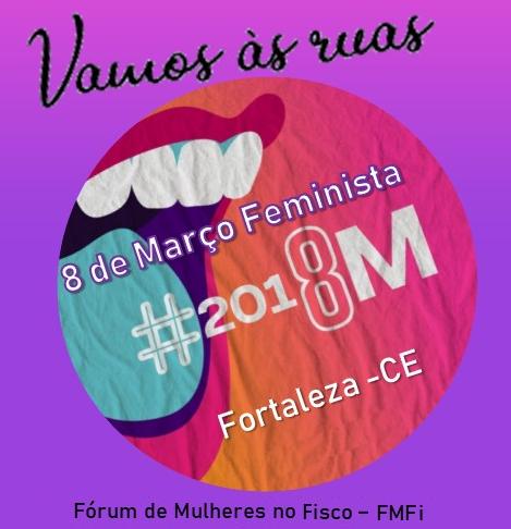 Março Lilás - Dia Internacional da Mulher = 8