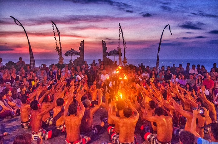 kecak dance, holiday in bali, honeymoon in Bali, yoga class, yoga workshop, pura tanah lot, hindu temple, scuba diving, snorkeling, vacation in Bali, surfing in Bali