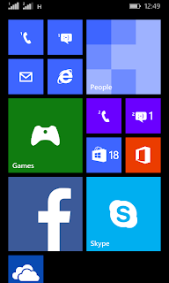Lumia 530 UI showing fast 3G support for SIM 2 or Secondary SIM