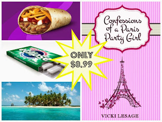 """Confessions of a Paris Party Girl"", a book by Vicki Lesage, on sale for $0.99"