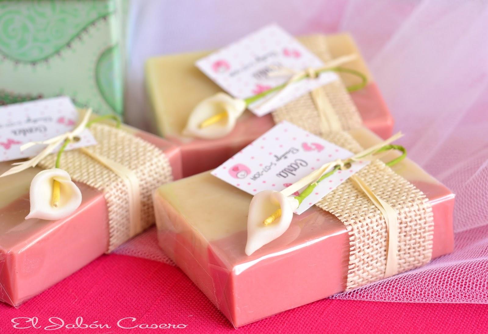 bautizos detalles para ellas jabones de rosas