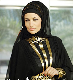 Latest Hijab Style For Ladies 2013