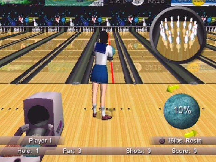 Neko Random Strike Force Bowling Ps2 Review