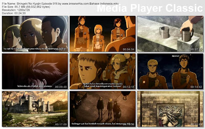 Download Film Shingeki No Kyojin Episode 016 Bahasa Indonesia