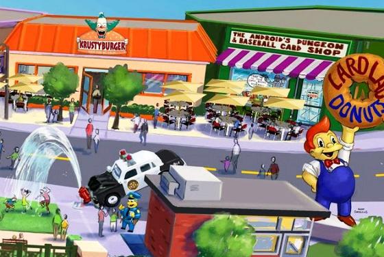 Springfield Simpsons Orlando