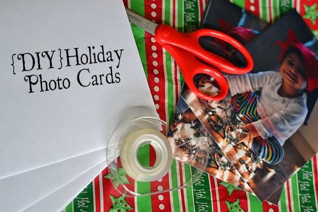 holiday photo card supplies