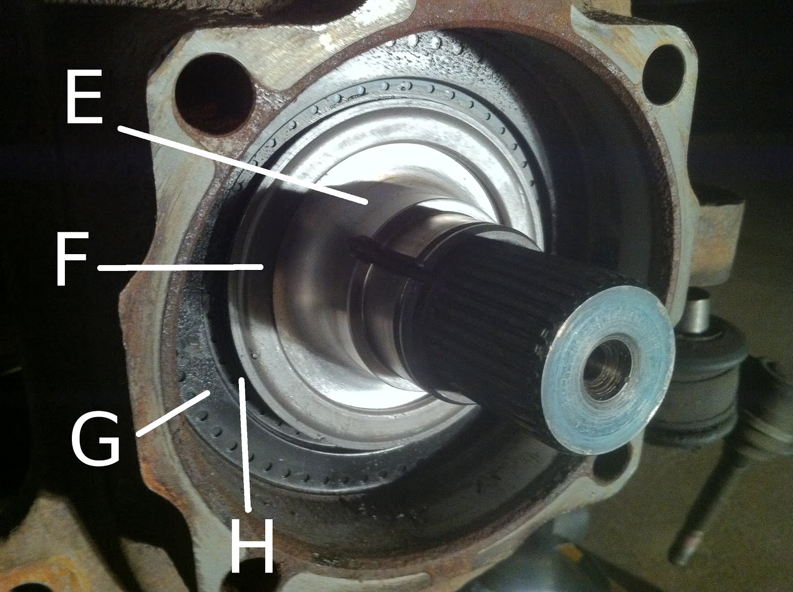 2005 F350 Axle shaft removal - Diesel Forum - TheDieselStop.com