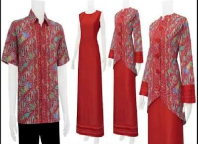 baju gamis polos merah