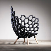 STUDIO HAUSEN - TEXTILE MOULDED CHAIR
