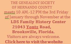 Genealogy Society
