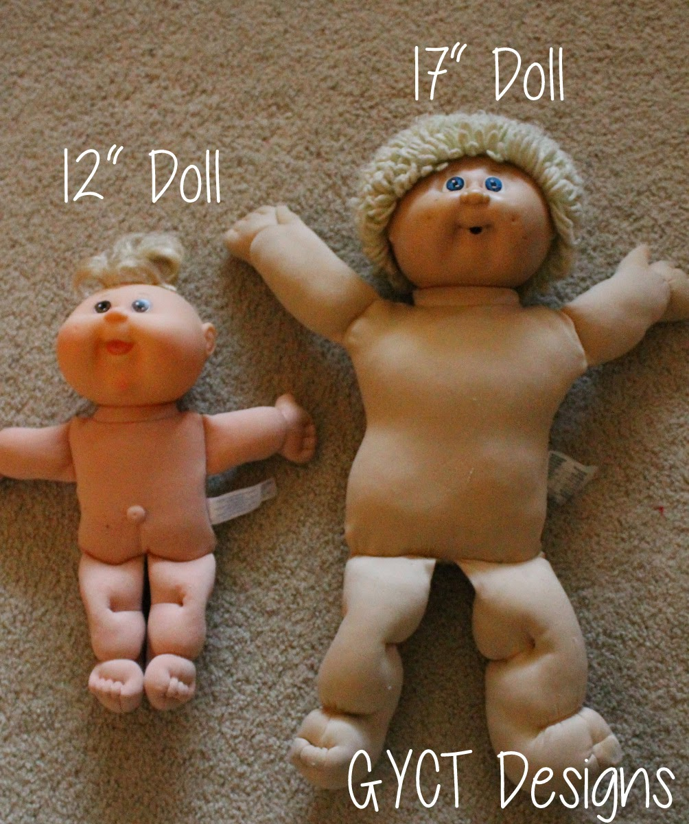 Free Baby Doll Clothing Patterns from GYCT