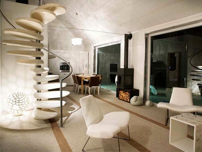 10 01 2014 11 01 2014 - Modern interior design with spiral stairs contemporary spiral staircase design ...