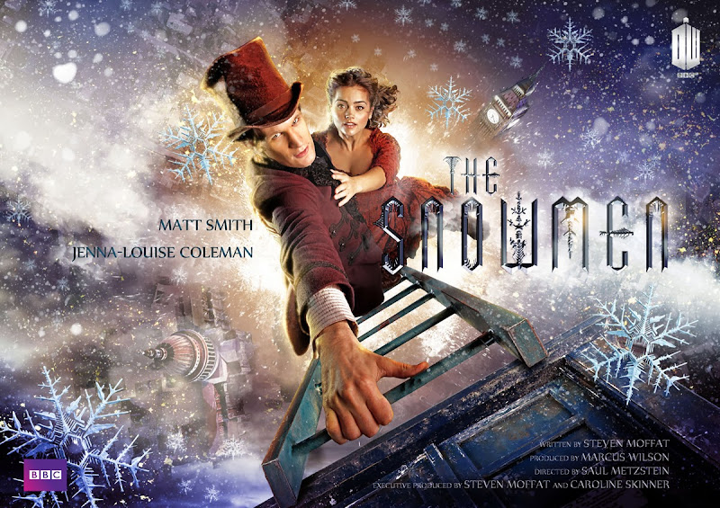 Snowmen Doctor Who Christmas 2012 poster