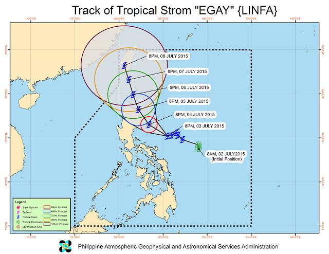 track typhoon Egay