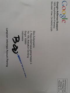PIN Google Adsense Sudah Datang