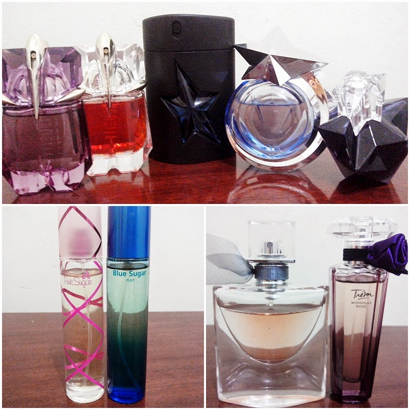 Perfumes brasileiros e importados