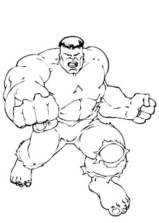 HULK the avengers black and white