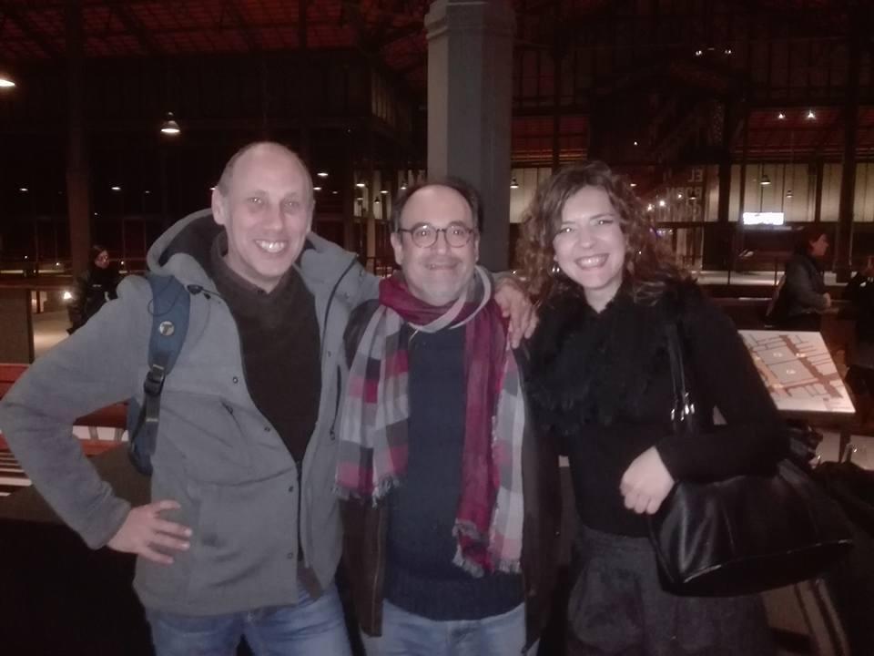 Amb Marta Elka i Toni Pastor