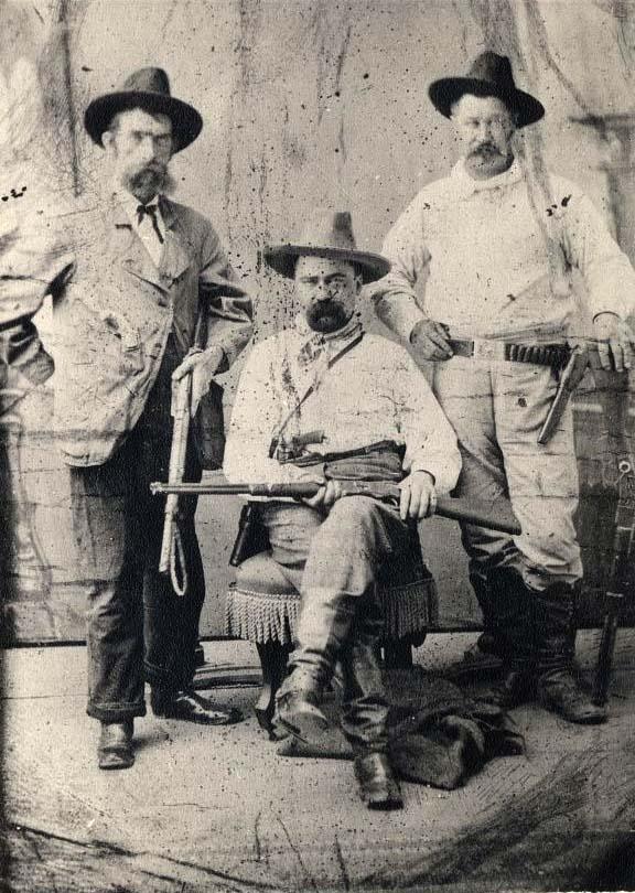 Pinkerton Detectives. c1880