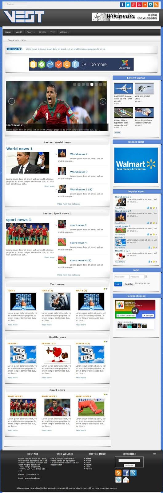 template-joomla-3-pour-news-portail-et-magazine