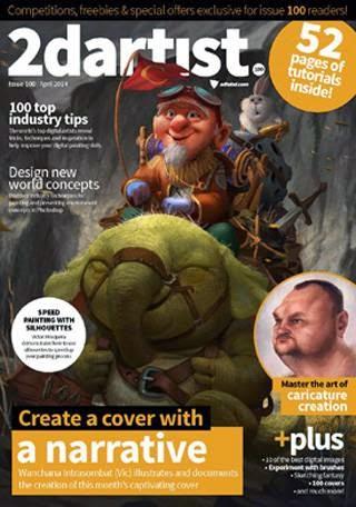 2D Artist Magazine Issue 100 April 2014