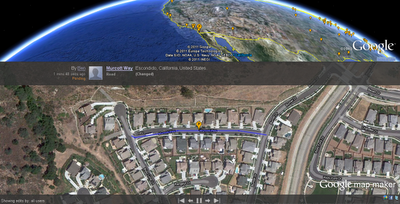 Google Map Maker Pulse