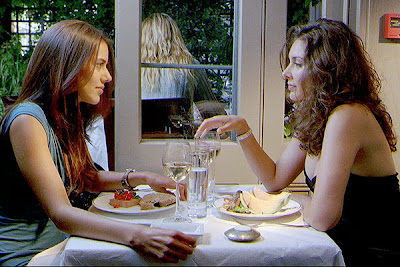 Lisa Ray as Tala and Sheetal Sheth as Leyla in I Can't Think Straight 2008 lesbian dating
