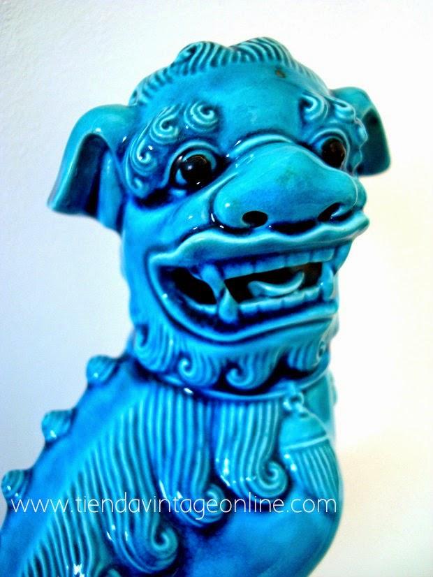 Comprar leones de fu de cerámica y porcelana