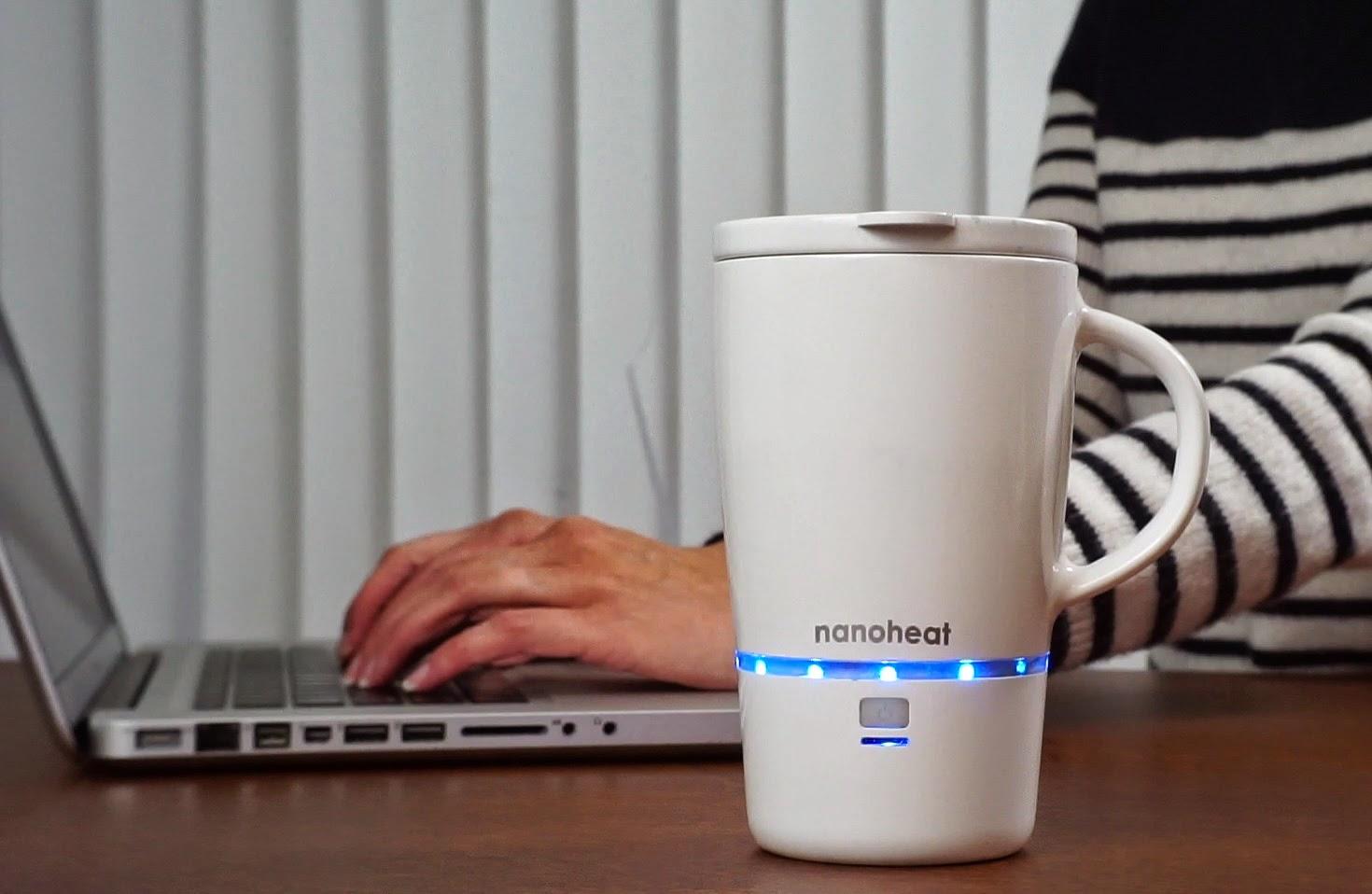 Nano Mug Keeps Drinks Hot For 45 Minutes