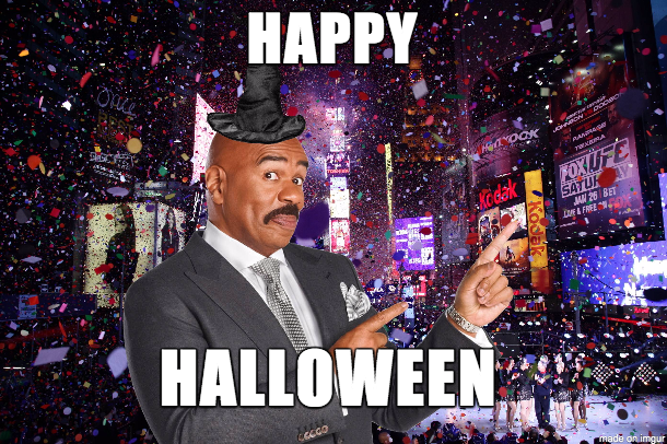 Happy New Year from Steve Harvey
