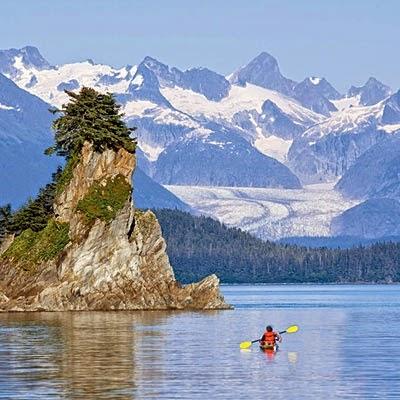 Inside Passage, British Columbia. USA